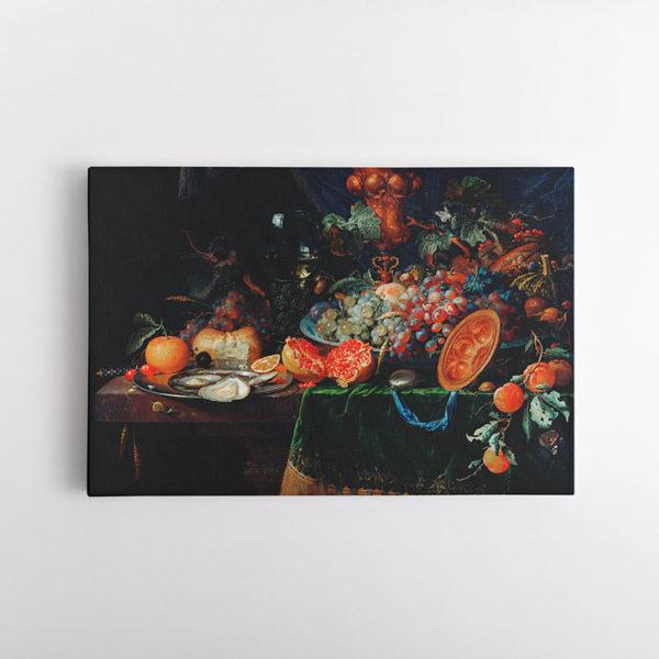 Φρούτα και Όστρακα του Άμπραχαμ Μινιόν