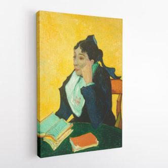 Η Αρλεζιάνα : η Madame Ginoux με βιβλία, Βαν Γκογκ