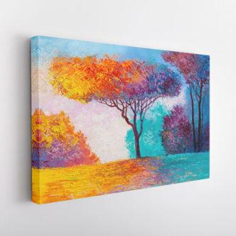 Δέντρο στα Χρώματα του Φθινοπώρου