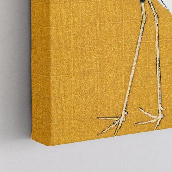 Γερανός της Μαντζουρίας σε κίτρινο φόντο, Ογκάτα Κόριν