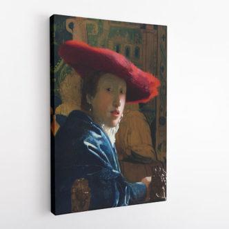 Κοπέλα με Κόκκινο Καπέλο, Γιοχάνες Βερμέερ