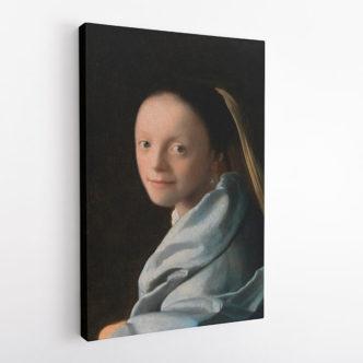 Πορτρέτο Νεαρής Γυναίκας του Γιοχάνες Βερμέερ