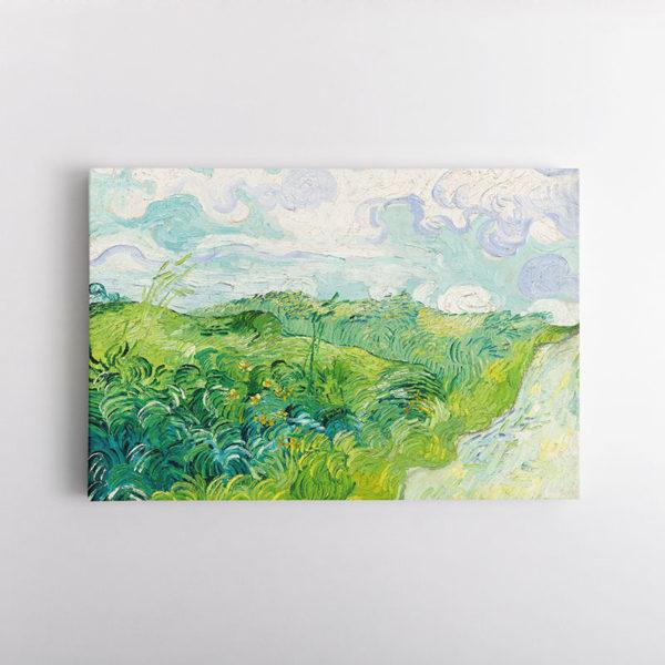 Χωράφι με Πράσινο Σιτάρι, Βαν Γκογκ