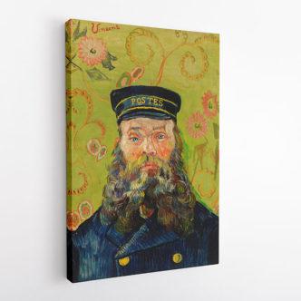 Πορτρέτο του Ζοζέφ Ρουλέν, Βαν Γκογκ