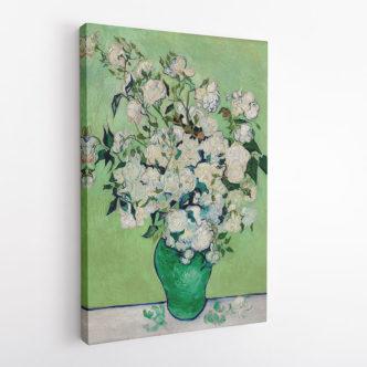 Βάζο με Λευκά Τριαντάφυλλα, Βαν Γκογκ