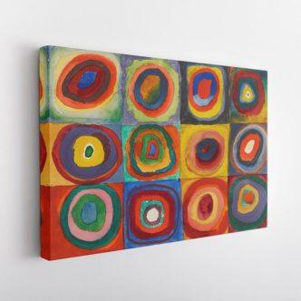 Τετράγωνα με Ομόκεντρους Κύκλους του Βασίλι Καντίνσκι