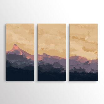 The Mountain, Τρίπτυχος