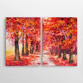 Abstract Το Κόκκινο Δάσος, Δίπτυχος