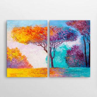 Δέντρο στα Χρώματα του Φθινοπώρου, Δίπτυχος