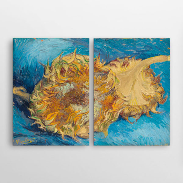 Δύο Κομμένα Ηλιοτρόπια του Βαν Γκογκ, Δίπτυχος