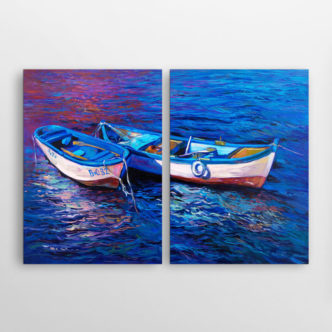 Δύο Βάρκες, Δίπτυχος