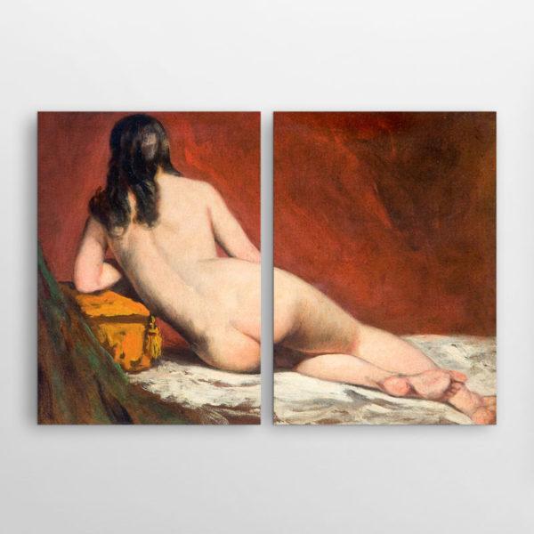 Γυμνή Γυναίκα που Ποζάρει, Ουίλιαμ Έτυ, Δίπτυχος