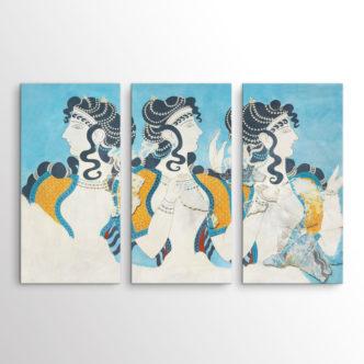 Γαλάζιες Κυρίες του Εμίλ Ζιλιερόν, Τρίπτυχος