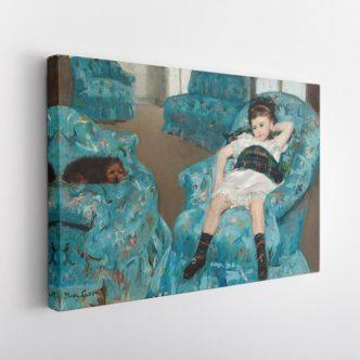 Μικρό Κορίτσι σε Μπλε Πολυθρόνα, Μέρι Κάσατ