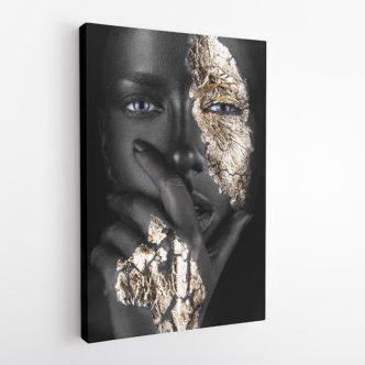 Πορτρέτο Χρυσός & Έβενος