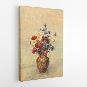 Βάζο με Λουλούδια, Οντιλόν Ρεντόν