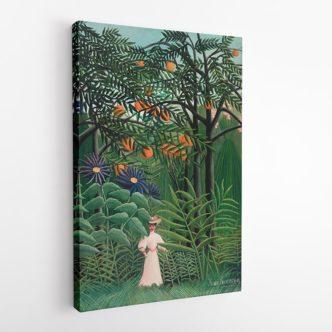 Γυναίκα σε ένα Εξωτικό Δάσος, Ανρί Ρουσσώ