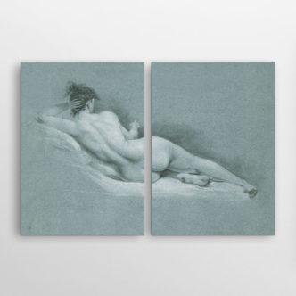 Ξαπλωμένο Γυμνό Ι του Τζον Τράμπουλ, Δίπτυχος