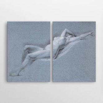 Ξαπλωμένο Γυμνό ΙΙ του Τζον Τράμπουλ, Δίπτυχος