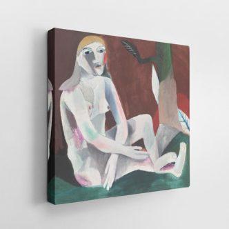 Καθισμένο γυμνό του Χάινριχ Κάμπεντονκ