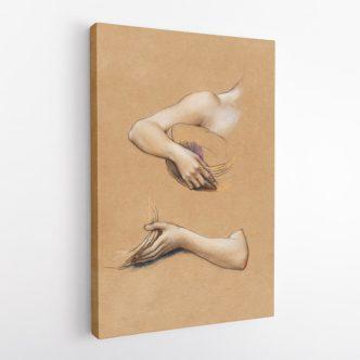 Μελέτη Χεριών, Έβελυν ντε Μόργκαν